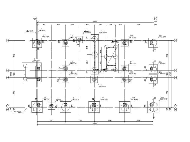 [广东]地上22层框架剪力墙结构办公楼结构施工图