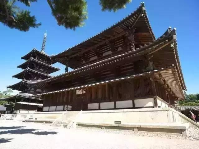 日本古代建筑的建造技术来源於中国