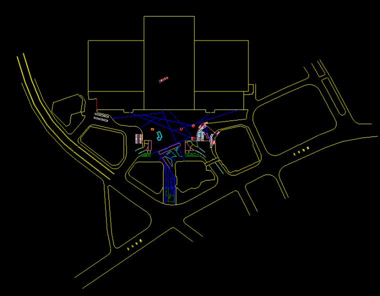 ps彩平第三讲作业:广场景观平面图(此处回帖上传作业)