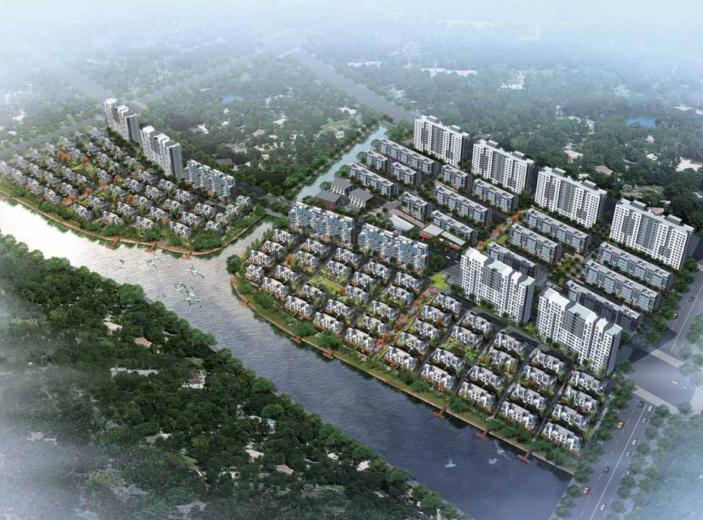 [上海]三林城地块商品住宅项目修复性详细规划方案文本