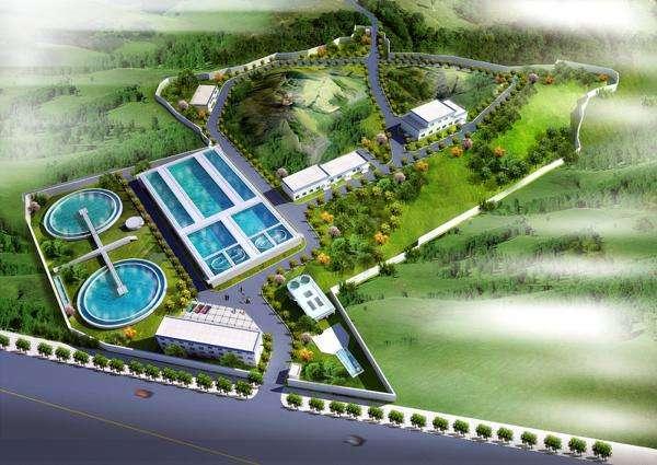 室外排水工程及污水处理项目技术标(范本)
