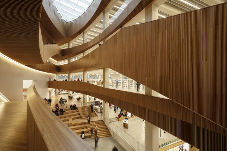 加拿大卡尔加里中央图书馆-4