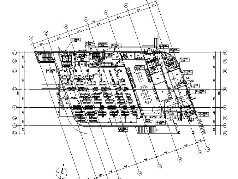 上海交通银行数据处理中心餐厅部分暖通系统工程施工图