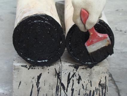 提高木结构喷烧仿古施工质量