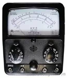 电工常用的仪表使用方法及注意事项