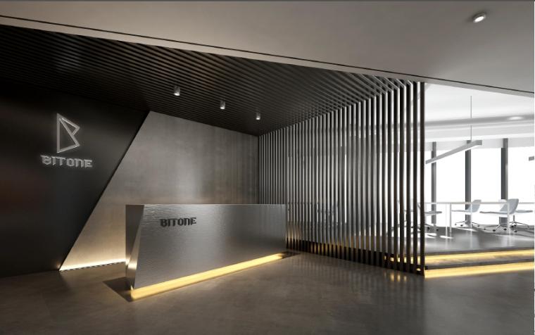 黑白灰秩序下的极简主义,呈现BITONE北京办公室设计丨HTD赫韬