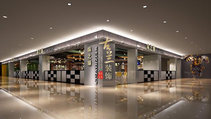 《美食城》-德令哈餐厅装修设计公司,德令哈餐厅设计公司-美食城2.jpg