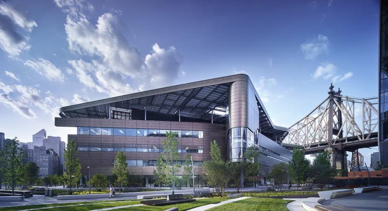 美国彭博中心建筑