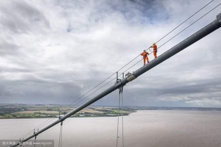 安装吊桥缆索用的施工猫道怎么计取?