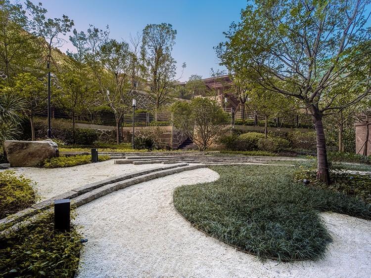 福州金辉十六山房新中式示范区景观