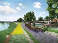 [江西]绿色海绵生态系统滨河景观带规划亿客隆彩票网址方案