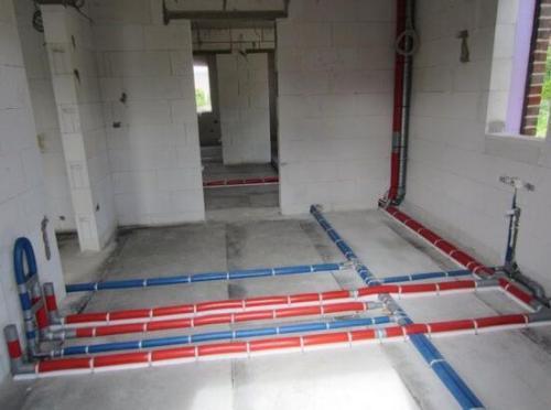 给排水施工案例之民用建筑给排水、采暖工程施工方案