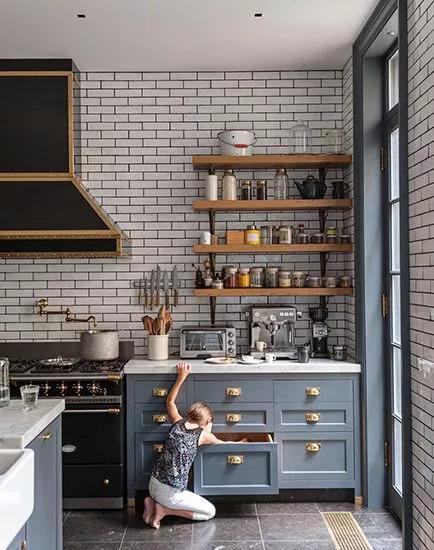 厨房比客厅还好看,让你爱上做饭!!_21
