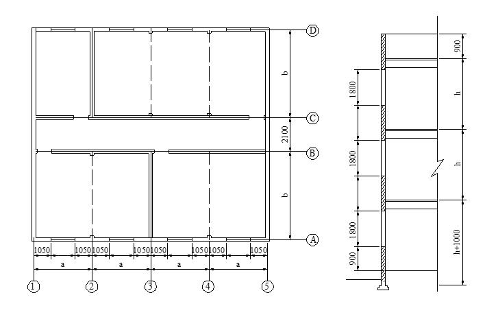 砖混结构办公楼课程设计计算书(word,14页)