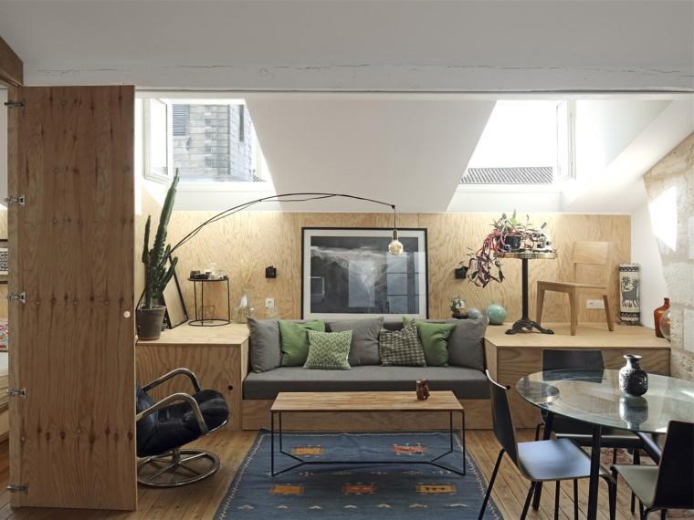 法国松木公寓