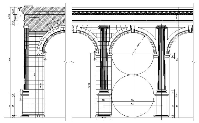 欧式构件大全(罗马柱式、欧式线条)