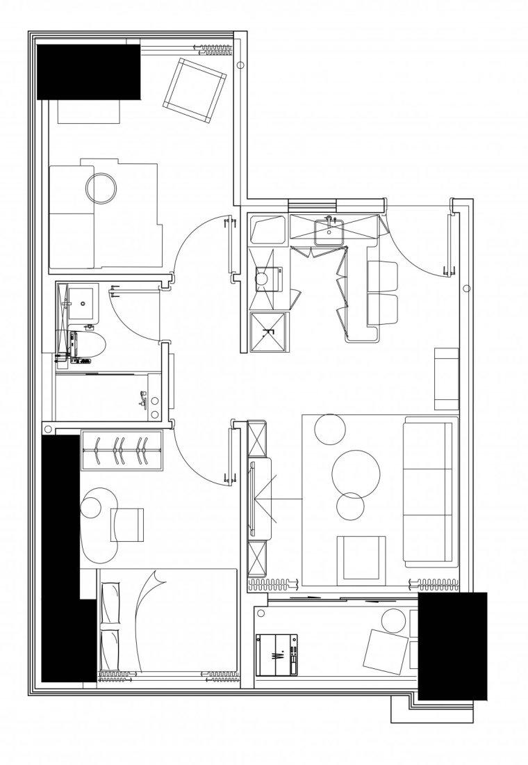 深圳北欧风格的住宅-11