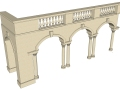 超有用的建筑构筑SU模型!