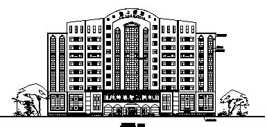 欧式风格某大酒店设计方案图(全套图纸)