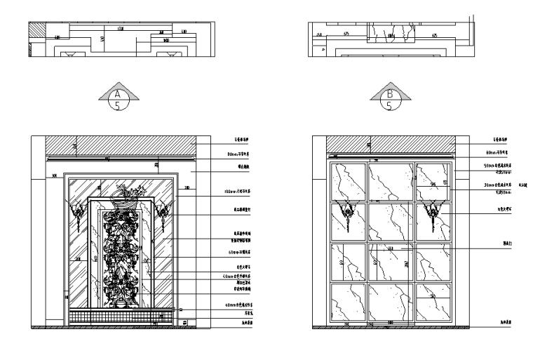 [江苏]中贯•美墅馆别墅家装设计施工图(附高清效果图)