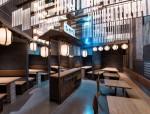 Hikari日式酒吧室内实景效果图
