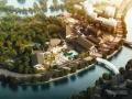 [合集]两套仿古商业文化广场及古城历史街区风貌改造建筑设计方案