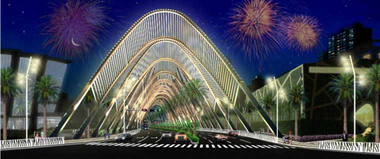 [广东]雪岗北路大和路景观方案设计(PDF+81页)-模型