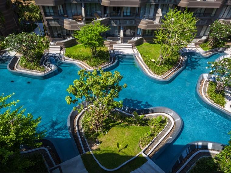 泰国BaanSanNgam公寓景观