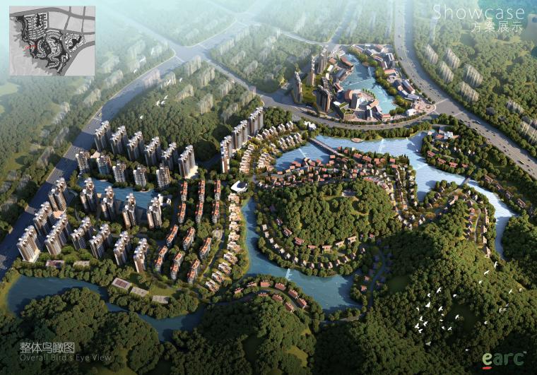 [广东]慢调生活——山水特色小镇建筑设计方案文本
