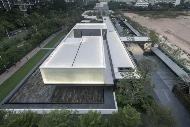 深圳湾超级总部基地首开项目与总体规划的展厅-深圳湾超级总部基地首开项目与总第1张图片