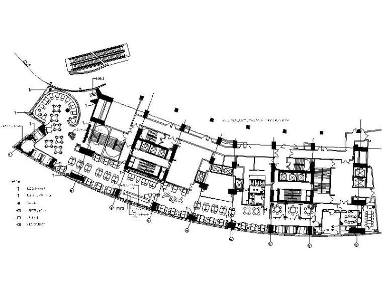 [深圳]新中式典雅精致火锅餐厅室内设计施工图(含效果图)