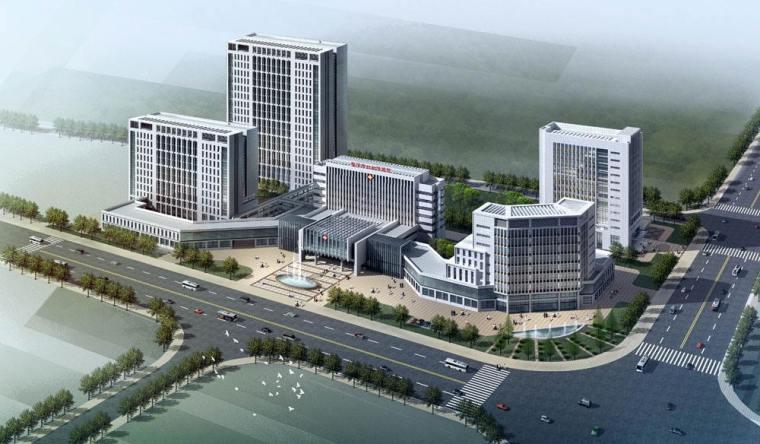 某医院办公大楼毕业设计(4000平+计算书+施工组+建筑+结构图)