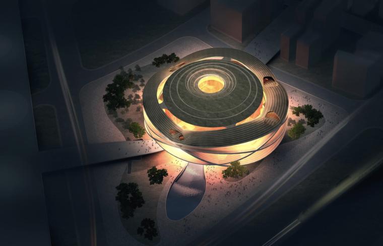 VR体验馆建筑设计资料下载-[上海]世博国家馆建筑设计方案文本