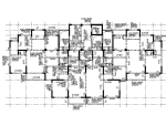 [湖北]15层剪力墙结构住宅楼结构施工图(CAD、29张)