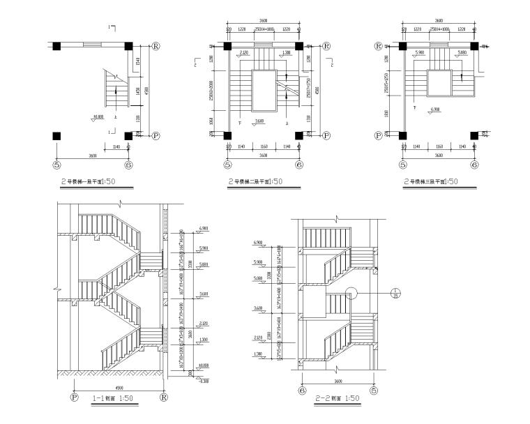 特色园林景观建筑设计施工图-艺术钟楼 2