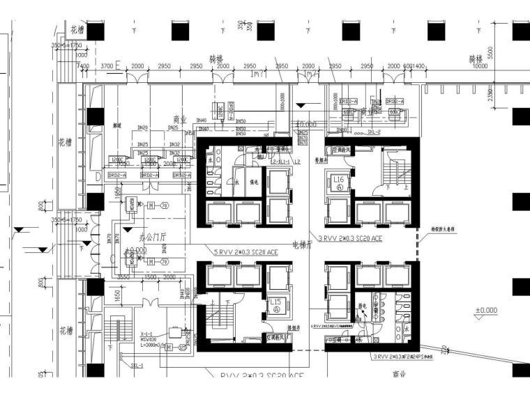 某五十二层超高商务中心(附电气、建筑、结构、空调、水多张图纸)_7