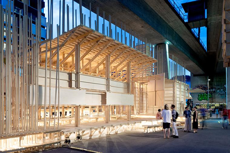 瑞士公共论坛装置艺术