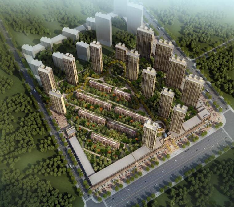 [吉林]高层住宅楼、商业楼及地下车库总承包施工组织设计(325页