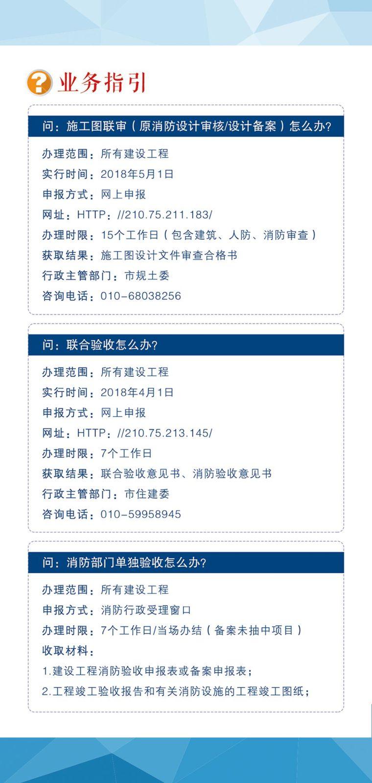 一图读懂|北京消防推出优化营商环境五项便民措施_2