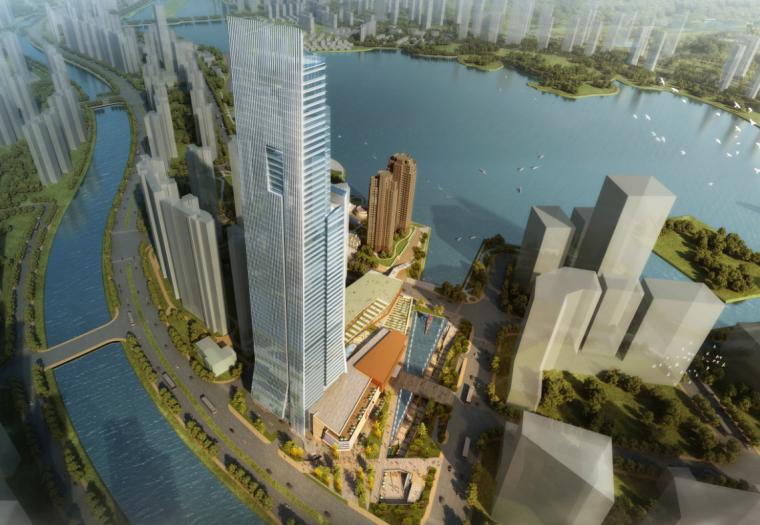 [湖南]国际总部中心二期商业综合体项目方案设计(含酒店、公寓)_2