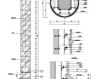 大理石包柱节点详图
