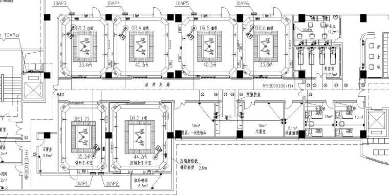 某医院手术部电气设计图
