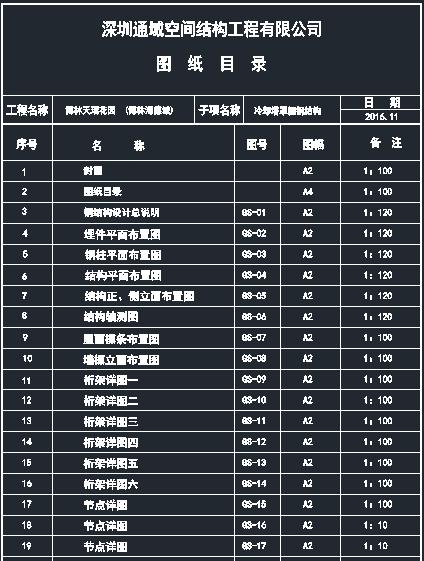 [深圳]冷却塔罩棚钢结构管桁架施工图_8