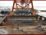 大型钢围堰刃脚段制作、下水工艺确保质量、缩短工期(35页)