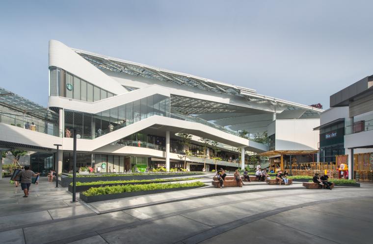 泰国Megabangna山谷购物中心实景图 (2)