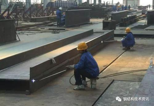 钢结构构件加工之火焰矫正(实务操作)