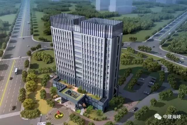福建省应用预制构件种类最多的装配式高层公建项目