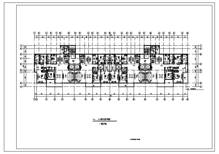 新江湾4号地块住宅小区CAD平立面图+SU模型(38张)