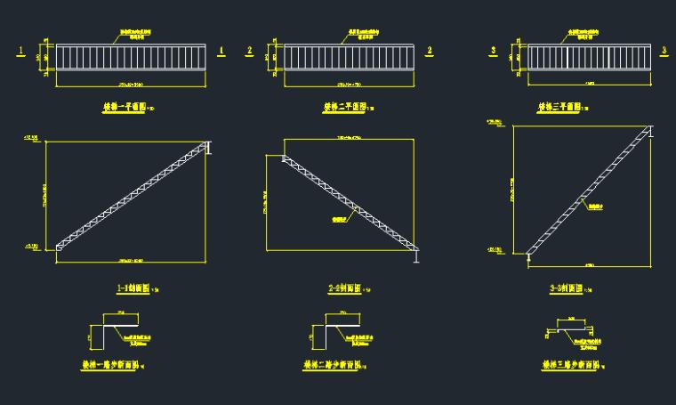 7层钢框架机械制样楼结构施工图_5