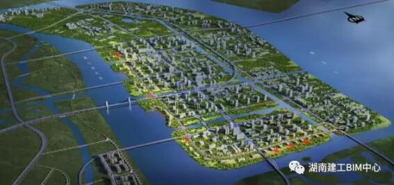 BIM技术在中山翠亨新区环岛路PPP项目的应用